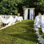 Ceremonia en medio de la naturaleza